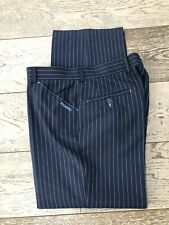 Stromberg Golf Tour Trousers W36 Short Leg Striped Blue Excellent Condition