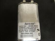 "Aerovox Capacitor Z50P3715M; 185398 SH0418; 15uf; 370V; 50/60HZ;-----""USED"""
