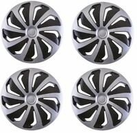 """4x Wheel Trims Hub Caps 14"""" Covers fits VW Polo Golf Fox Lupo Alloy Look"""