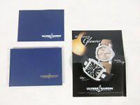 Ulysse Nardin Watch Hard Cover Catalog Brochure Book price list 2007