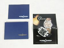 Brochure Book price list 2007 Ulysse Nardin Watch Hard Cover Catalog