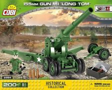 COBI 155 mm Gun M1 Long Tom / 2394 / 200 blocks WWII US gun Small Army