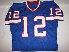 Buffalo Bills Jim Kelly #12 Autographed NFL Football Jersey sz 48