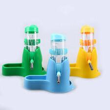 Pet Fat Hamster Water Drinker Dispenser Food Stand Hamster Feeder Bowl Bottle AB