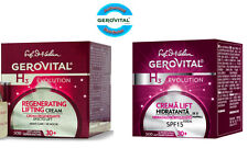 Gerovital H3 Evolution Moisturizing Day SPF10 & Regenerating Night Cream, 30+