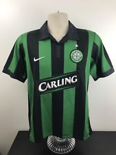 Nike Glasgow Celtic FC Jersey Men's Size S Small Soccer Football Away Carling