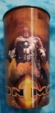 Iron Man Movie 22 Oz. Slurpee Cup 7-11 2008
