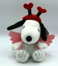 "HALLMARK PEANUTS SNOOPY WITH WINGS VALENTINE'S DAY 8"" in PLUSH"