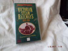 VICTORIAN STEAM RAILWAYS 1895/1901 (VHS VIDEO)