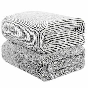 "55"" x 29"" Oversized Bath Towels Bamboo, Microfiber Shower Towel for Body, Towel"