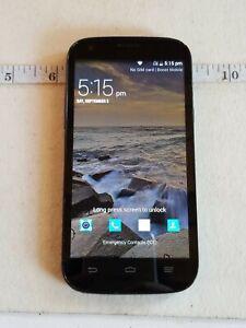 ZTE Warp Sync N9515 8GB Black Boost Mobile