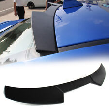 Unpainted For Subaru WRX STI 4th Sedan High V Roof Spoiler 15-18 ABS