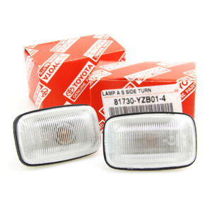 FENDER GUARD REPEATER SIDE INDICATOR LIGHT FIT TOYOTA HILUX LN145 150 166 PICKUP