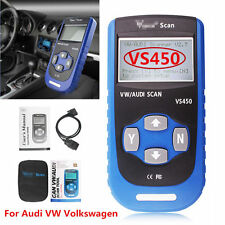 New VS450 Airbag OBDII Code Reader Diagnostic Tool Scanner Com Reset For Audi VW
