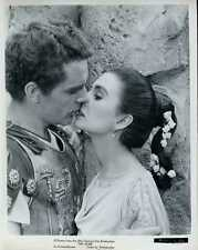 "Richard Burton Jean Simmons The Robe Original 8x10"" Photo #J1324"