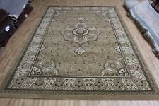 AN AMAZING OLD  MACHINE MADE ORIENTAL RUG (290 x 200 cm)