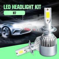 H7 Ampoules Phares LED 2pcs Voiture Lampe Ampoule COB Auto Eclairage 72W 6500K