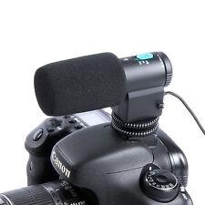 HD/DV Stereo Microphone for Nikon D7000 D5200 D5100 D3200 D300S D600 D800E D4