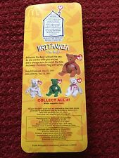 Ty Beanies - International Series - Brittania, Erin, Glory, Maple