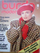 BURDA Moden n°10 1987  - con cartamodelli  [M10]