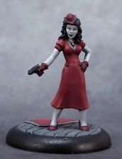 Femme Fatale Deadlands Noir Reaper Miniatures Savage Worlds Spy RPG Modern Pulp