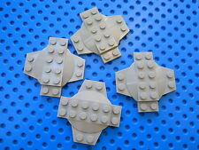 LEGO Lite Blue Gray MODIFIED PLATE CROSS WITH DOME PART 30303 Star Wars