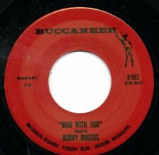 BUDDY ROGERS 45 RE - MAD WITH YOU - GREAT 60s BLUES ROCKER