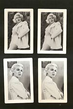 4 MGM Movie cards POSTMAN ALWAYS RINGS TWICE 1946 w/ LANA TURNER  NM-MINT COND.