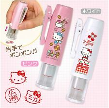 Order made! Hello Kitty Frame Hanko Stamp of Your Name in Hiragana/Katakana