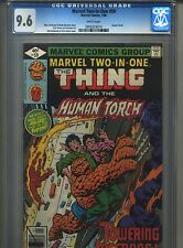 Marvel Two-In-One #59 CGC 9.6 (1980) Thing & Human Torch World Trade Center