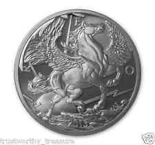 2013 1 troy oz Silver PEGASUS round BU and in AIRTITE .999 fine