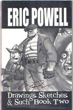 Eric Powell Drawings Sketches & Such Book Two 2012 SDCC S&N #1545/2000 VF AB Comic Art