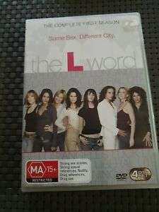The L Word The Complete First Season - 4 Disc DVD SET- FREE POST