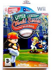 Little League World Series Baseball Wii EUR Precintado Videojuego Nuevo Sealed