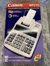 Canon Mp27-D Printing Calculator in Box