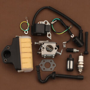 Carburetor fits Stihl MS250 MS210 MS230 Chainsaw carb ignition coil air filter