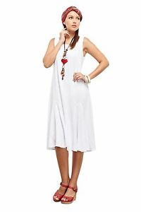 Oh My Gauze Lucy Dress Lagenlook Casual 100% Cotton