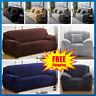 1/2/3/4-Sitzer Cover Sofabezug Sofa Abdeckung Stretch Protector Couch Schonbezug