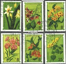 Sao Tome e Principe 568-573 (complete issue) used 1979 Flowers