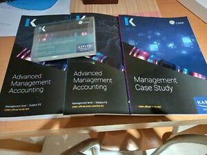 CIMA P2 Advanced Management Accounting Study Kit + Management Case Study Text