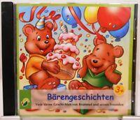 Bärengeschichten + CD + Tolles Hörbuch für Kinder mit 21 Geschichten über Bären