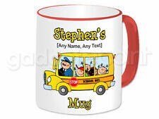 Personalised Gift School Bus Mug Cup Student Transport Bus Driver Present Fun #2