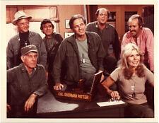 MASH Alan Alda Loretta Swit in Col Sherman Potter office Original CBS 7x9 Photo