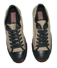 Women's Boys CONVERSE Scottish Plaid JACK PURCELL Tweed Trainers Shoes SIZE UK 5