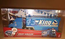 Disney Pixar Cars The King Dinoco Gray Blue Hauler New 43 Trailer