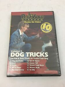Dog Tricks Volume 2 - Dog & Puppy Training DVD  NEW