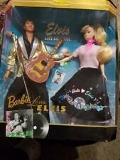 Barbie Doll Barbie Loves Elvis Live On Stage Ken