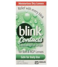 AMO Blink Contacts Lubricant Eye Drops .34fl oz (10 ml) No box (New) Exp 6/18+