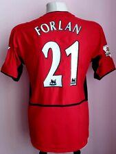 Manchester United 2002 - 2004 Home football shirt #21 FORLAN