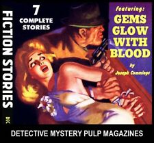 1930s Pulp Magazines CRIME & DETECTIVE STORIES DVD Golden Age Books Lot Mystery
